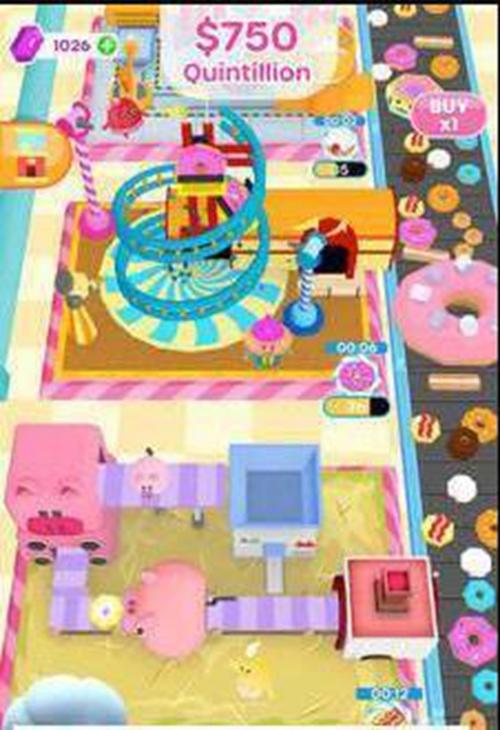 甜甜圈加工坊截图0