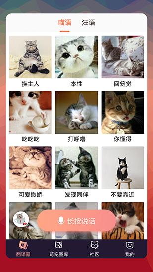 猫语翻译器截图3
