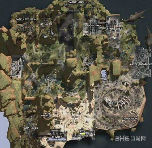 Apex Legends地图