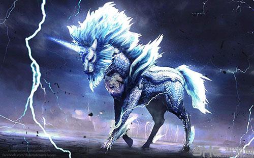 怪物猎人世界麒麟游戏截图