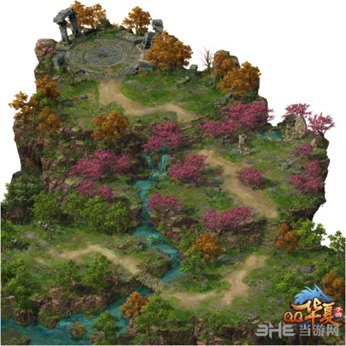 《QQ华夏手游》新地图