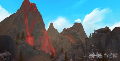 万王之王3D熔岩峡谷