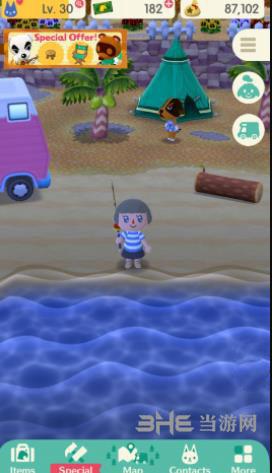 动物之森手游钓鱼玩法