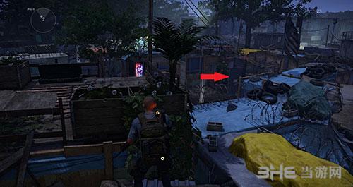 《全境封锁2》铁门背面有个锁
