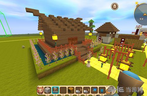 迷你世界给这个小房子做个模型