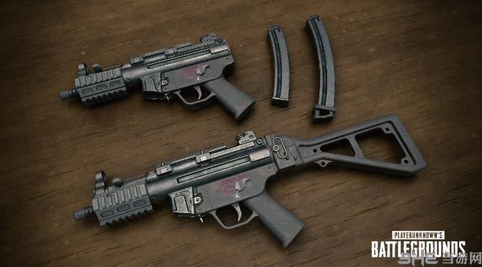 �^地求生MP5K�D片