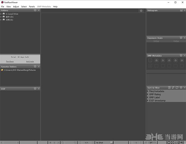 LibRaw FastRawViewer