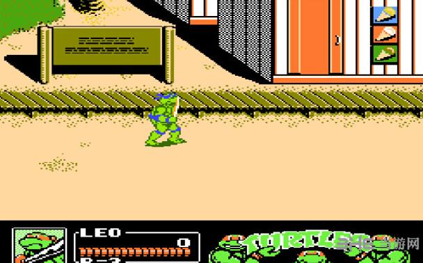 忍者神龟3无敌版截图1