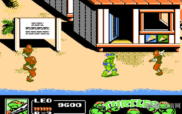 忍者神龟3无敌版截图2