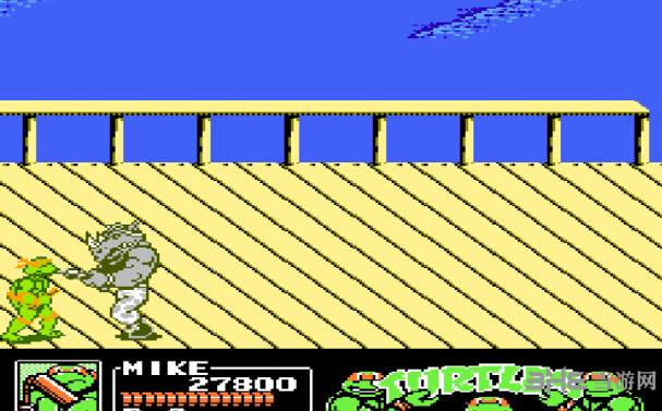 忍者神龟3无敌版截图4