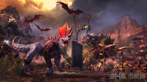 《全面战争:战锤2》蜥蜴人截图