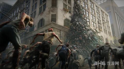 《僵尸世界大战》游戏宣传图