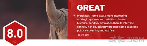 《大将军:罗马》IGN给出8分
