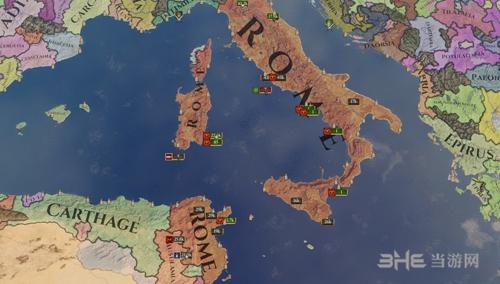 《统治者:罗马》宣传图
