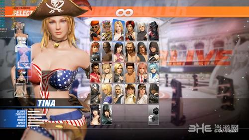 《死或生6》DLC海盗服饰