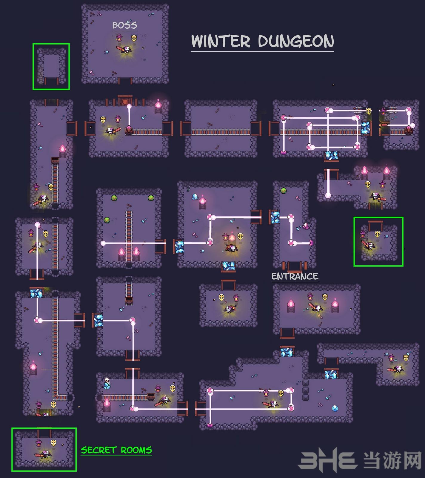 浮岛物语游戏地图
