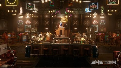 《Subverse》酒吧