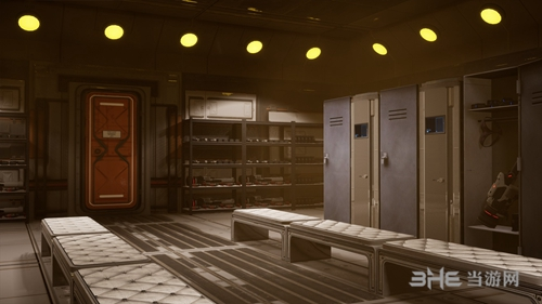 《Subverse》更衣室