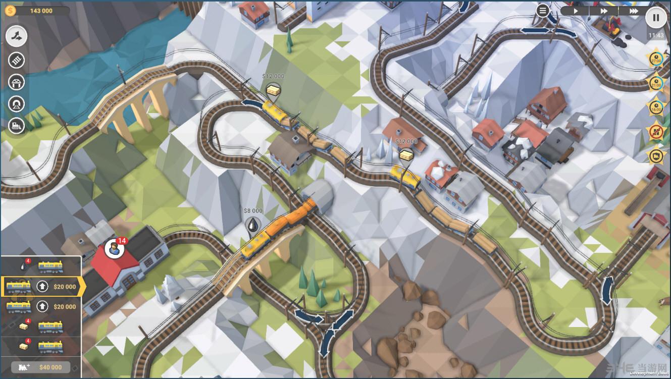 火车山谷2截图1