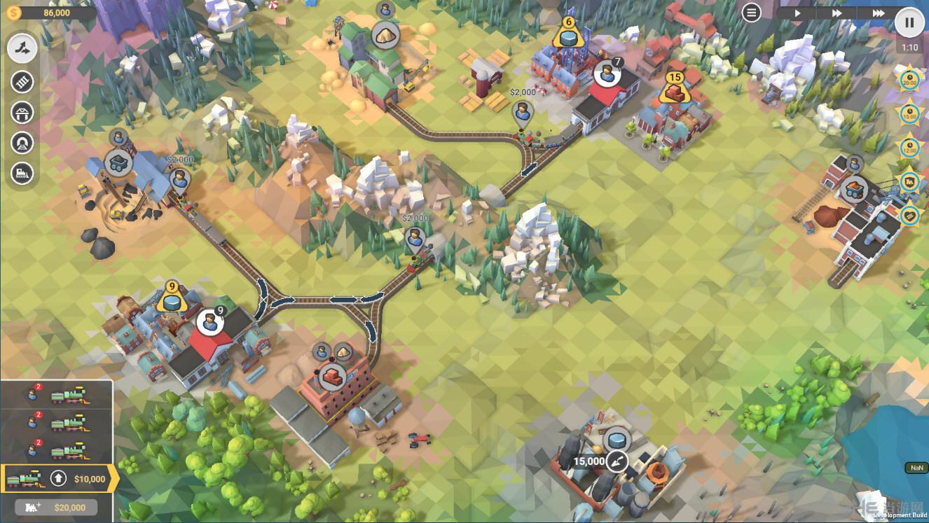 火车山谷2截图3