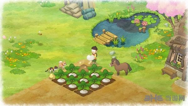 哆啦A梦:大雄的牧场物语截图1