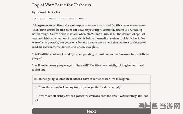 战争迷雾:塞伯勒斯之战截图0