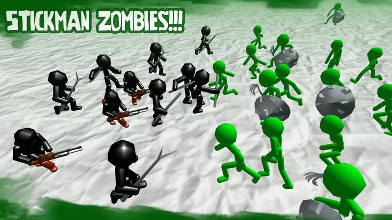 火柴人模拟器僵尸之战无限金币截图0