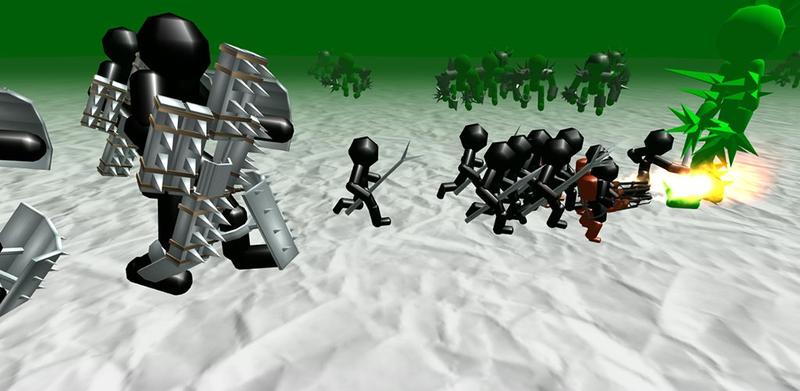 火柴人模拟器僵尸之战无限金币截图2