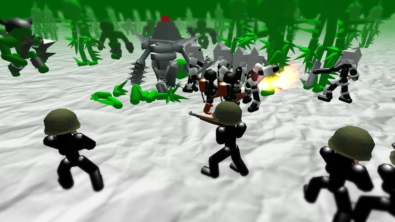 火柴人模拟器僵尸之战无限金币截图3