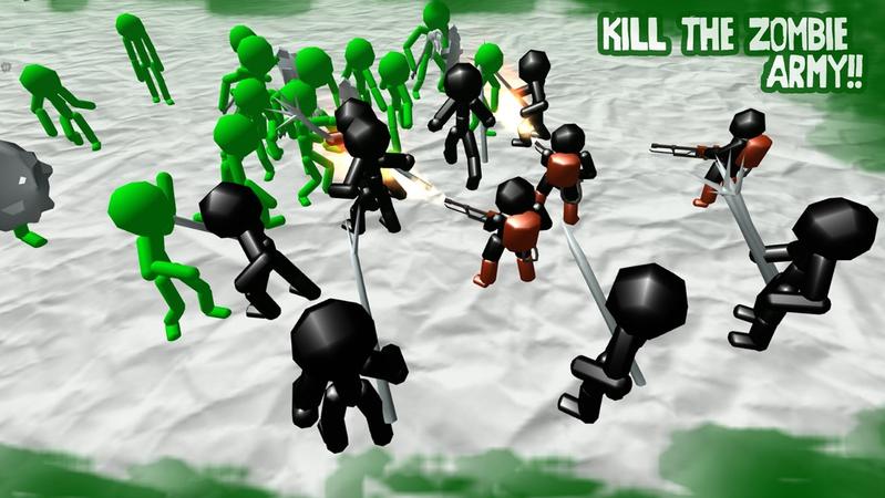 火柴人模拟器僵尸之战无限金币截图4
