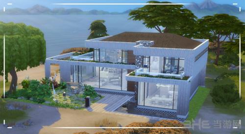 模拟人生4豪华海滨度假别墅MOD截图0