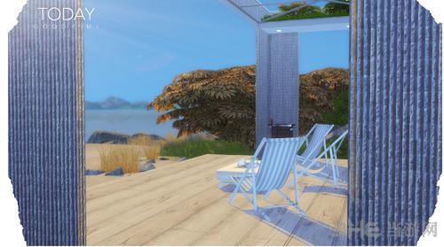 模拟人生4豪华海滨度假别墅MOD截图2