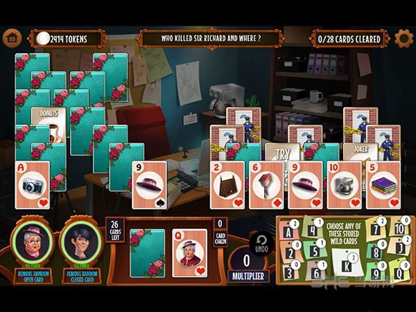 团队侦探:纸牌与麻将之谜截图0