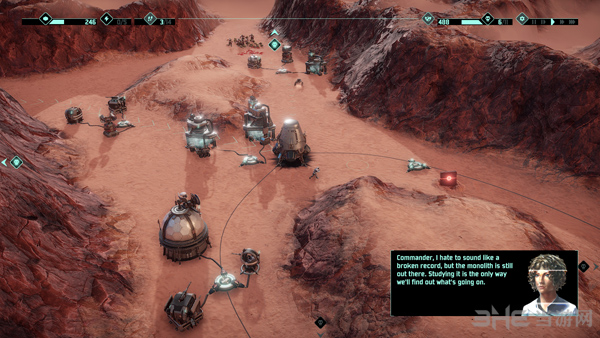 火星Z:战术基地防御截图1