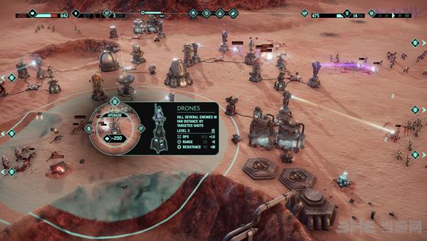 火星Z:战术基地防御截图2