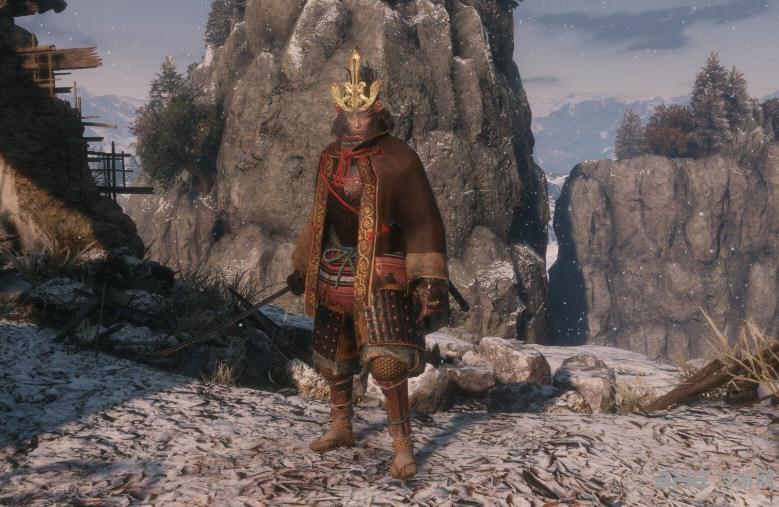 只狼主角替换剑圣和弦一郎MOD截图1