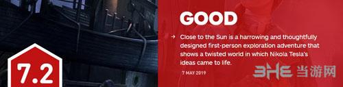 《靠近太阳》IGN评分7.2