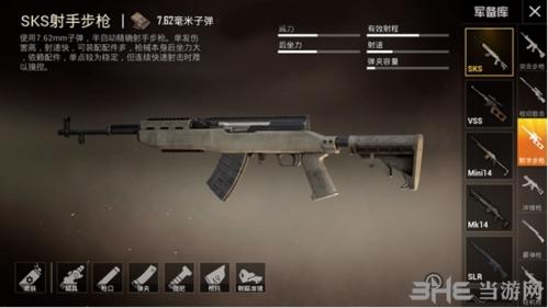 sks射手步枪7.62mm子弹