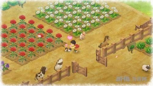 《哆啦A梦:牧场物语》游戏截图