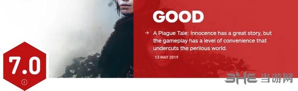 瘟疫传说无罪IGN评分图片