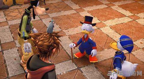 王国之心3游戏截图