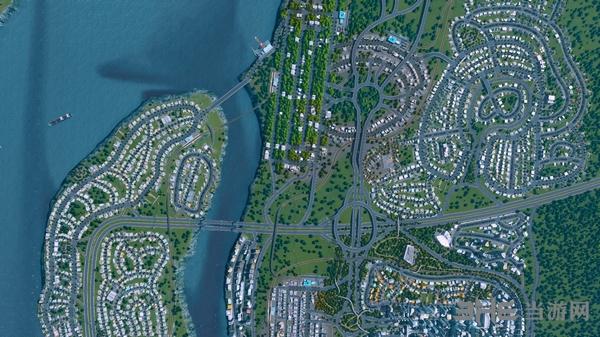 城市天际线截图