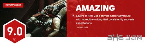 《层层恐惧2》IGN评分