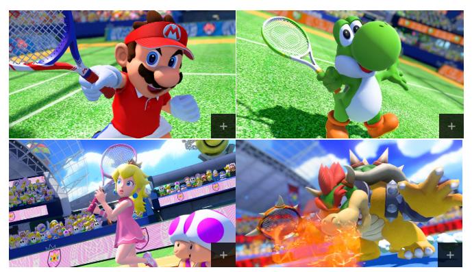 《马力欧网球Ace》游戏截图