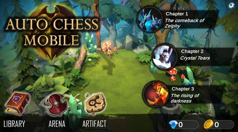 自走棋防御(AutoChess Defense)截图4