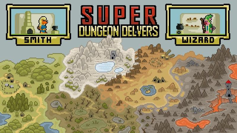 超级地牢德尔弗斯(Super Dungeon Delvers)截图4