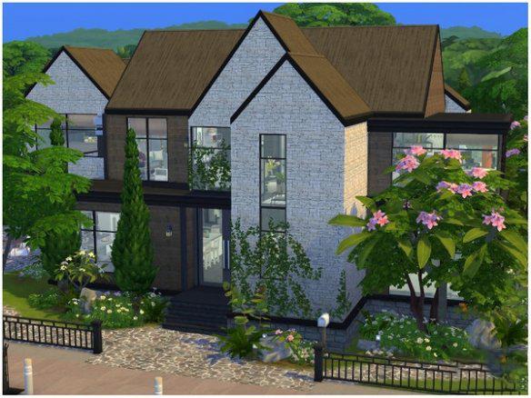 模拟人生4温馨的大家庭住宅mod截图0