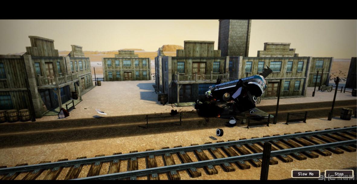 灾难事故模拟器(Wrecked Destruction Simulator)截图0