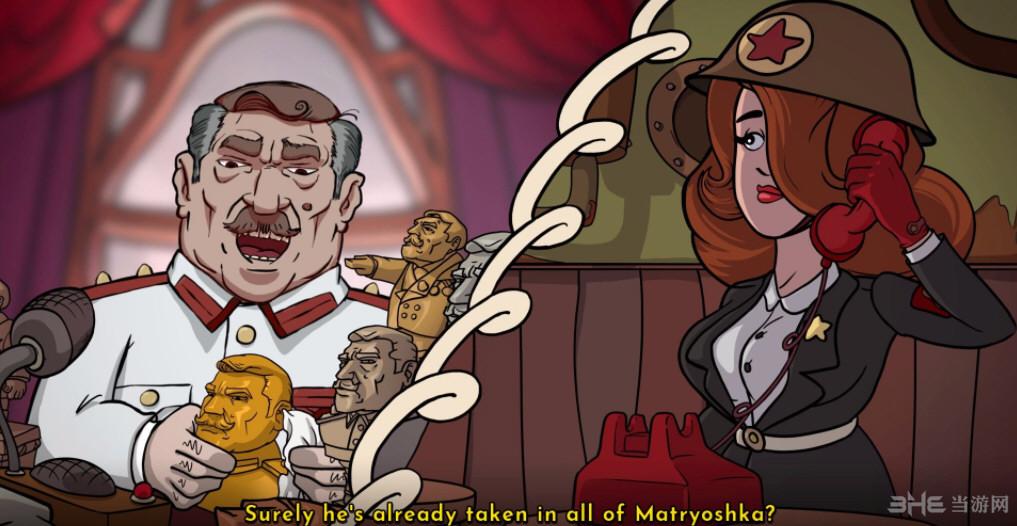 讽刺的铁幕:来自俄罗斯套娃的爱情截图0