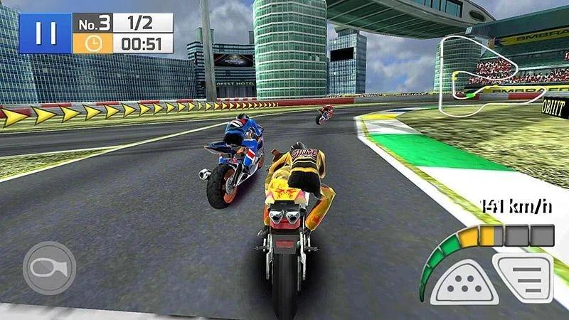 真实摩托赛车无限地图版
